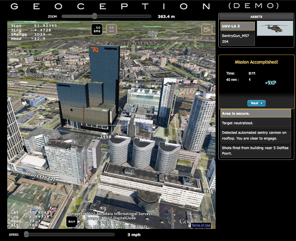 NEW VIDEO GAME AIMS TO CREATE REALISTIC COMBAT DRONE SIMULATOR USING GOOGLE  EARTH